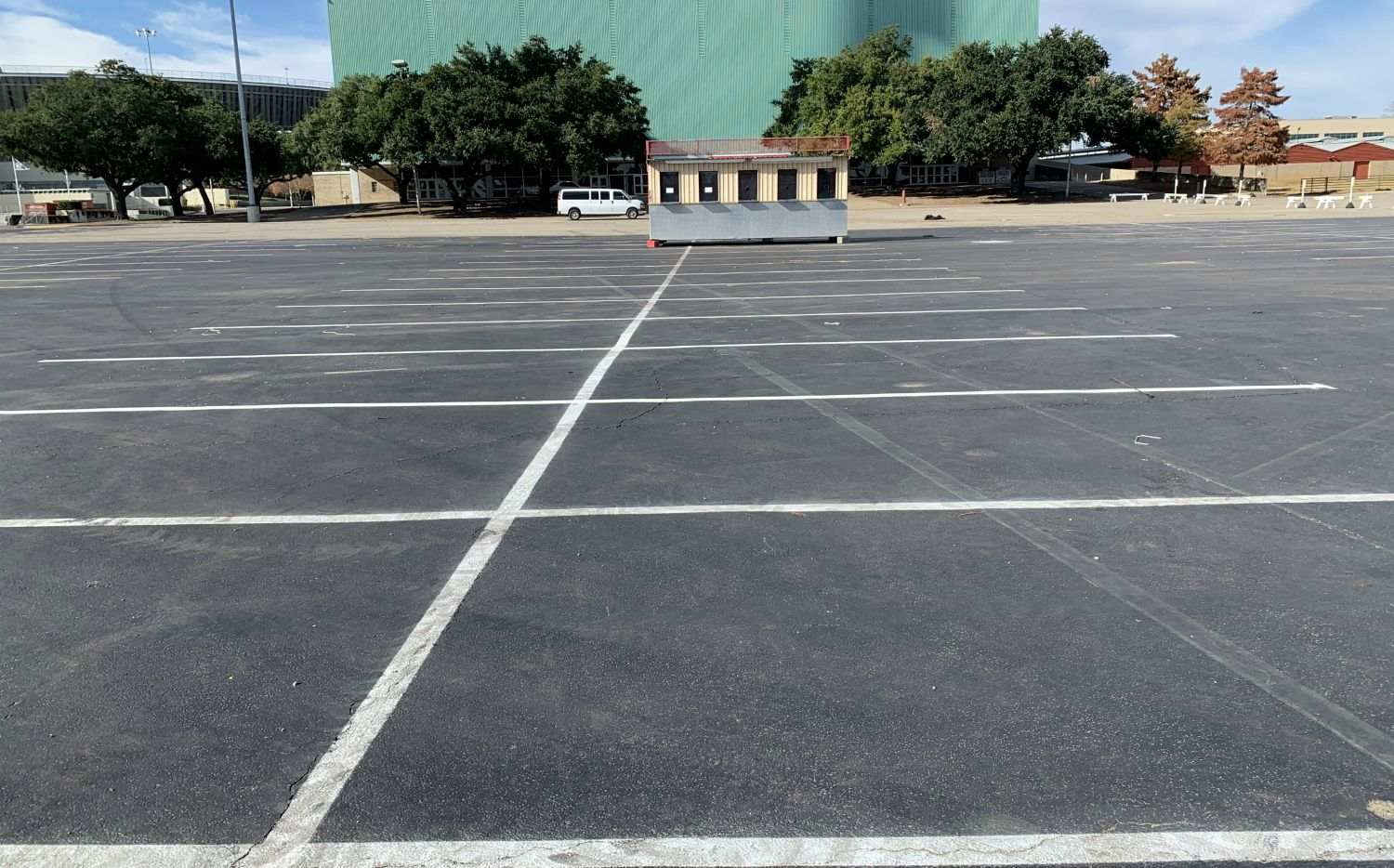 Lots of parking at Fair Park. Just not a lot of park.