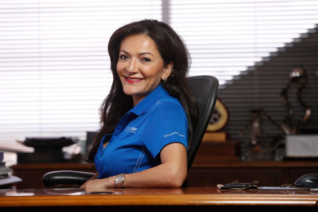 Nina Vaca's Pinnacle Group in each of the last three years has topped or placed second on the 50 fastest-growing women-owned/led companies list compiled by the Women Presidents' Organization in conjunction with American Express.
