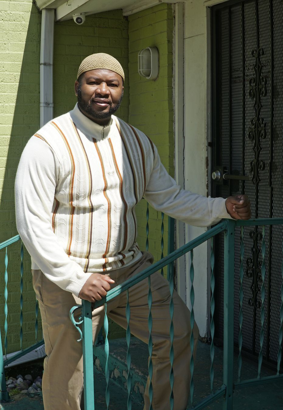 Imam-elect Muhammad Abdul-Jami, a Dallas school district educator, says he's humbled to be taking over the mosque.