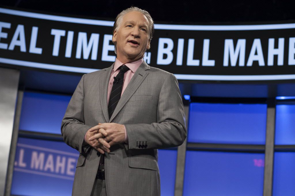 Bill Maher will reappear in Dallas on Sunday night. (AP Photo/HBO, Janet Van Ham, File)