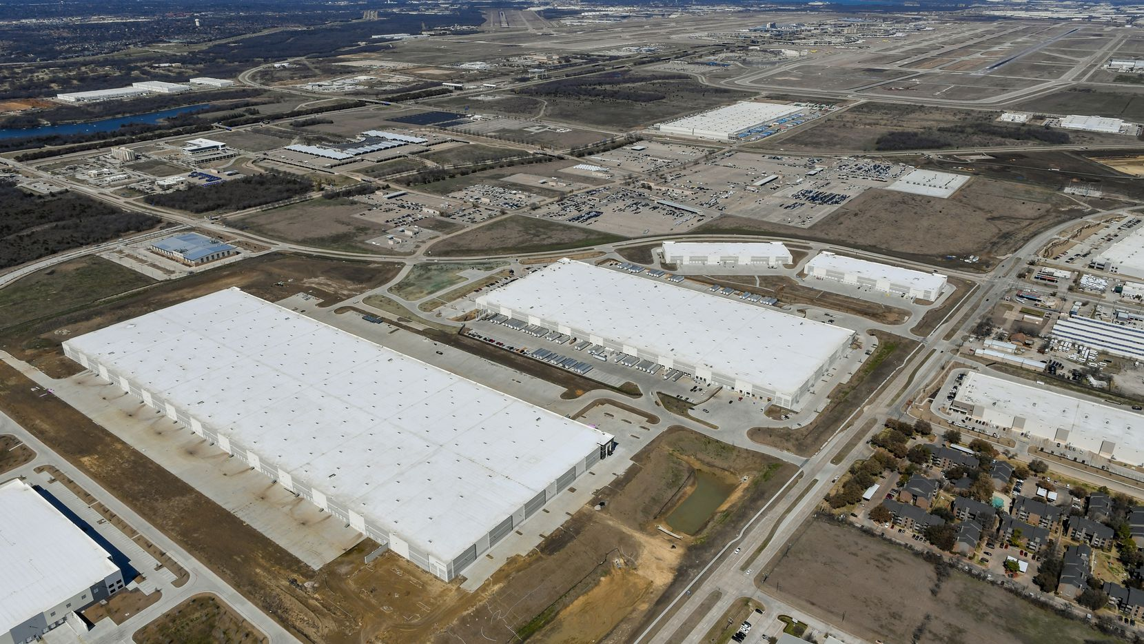 Trammell Crow Co.'s Passport Park industrial project contains more than 2 million square feet of space.