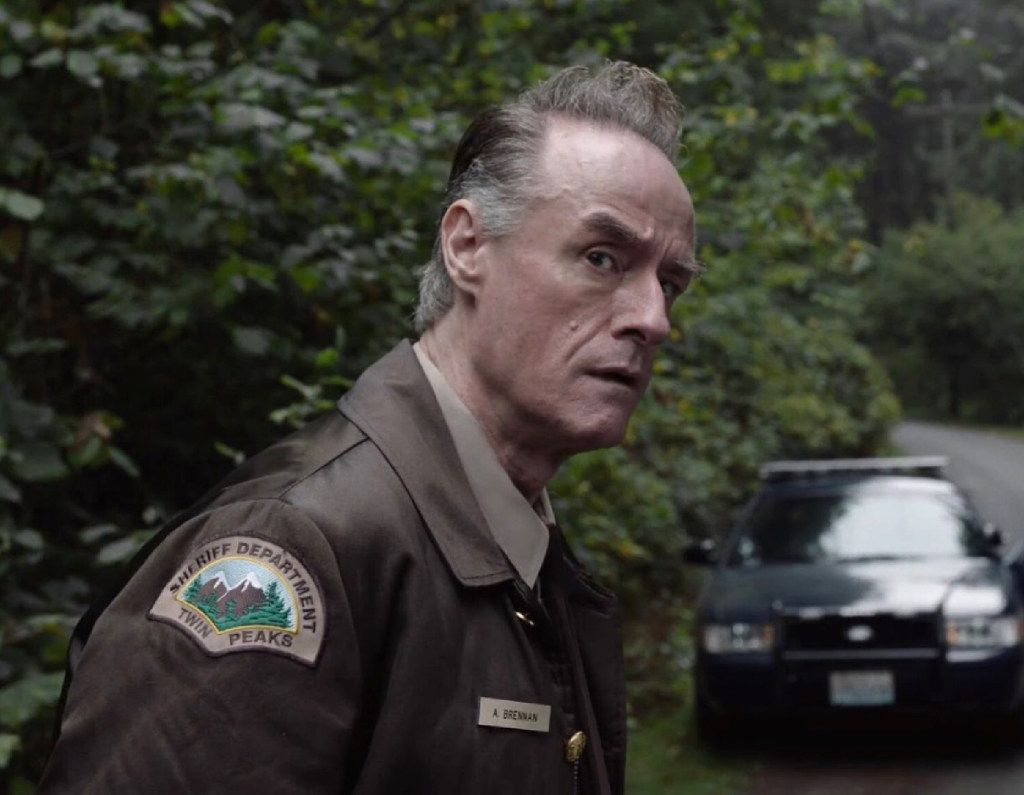 """Harry Goaz in the updated version of """"Twin Peaks,"""" which aired on Showtime in 2017."""