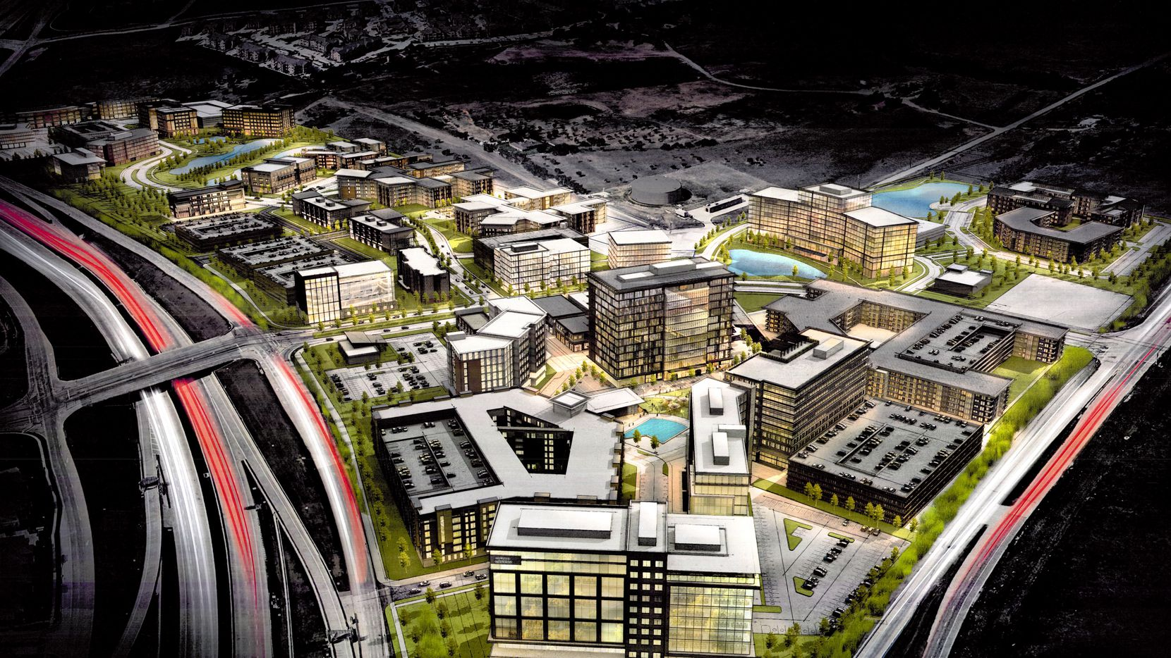 The Crown Centre development will include offices, apartments and hotel space.