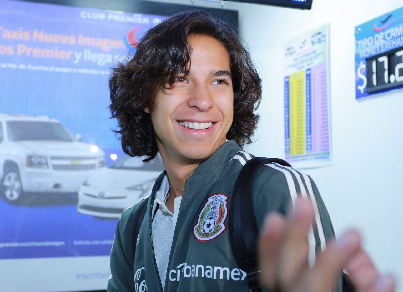 Diego Lainez anotó un gol con la selección mexicana en su partido amistoso del 13 de octubre ante Argelia.