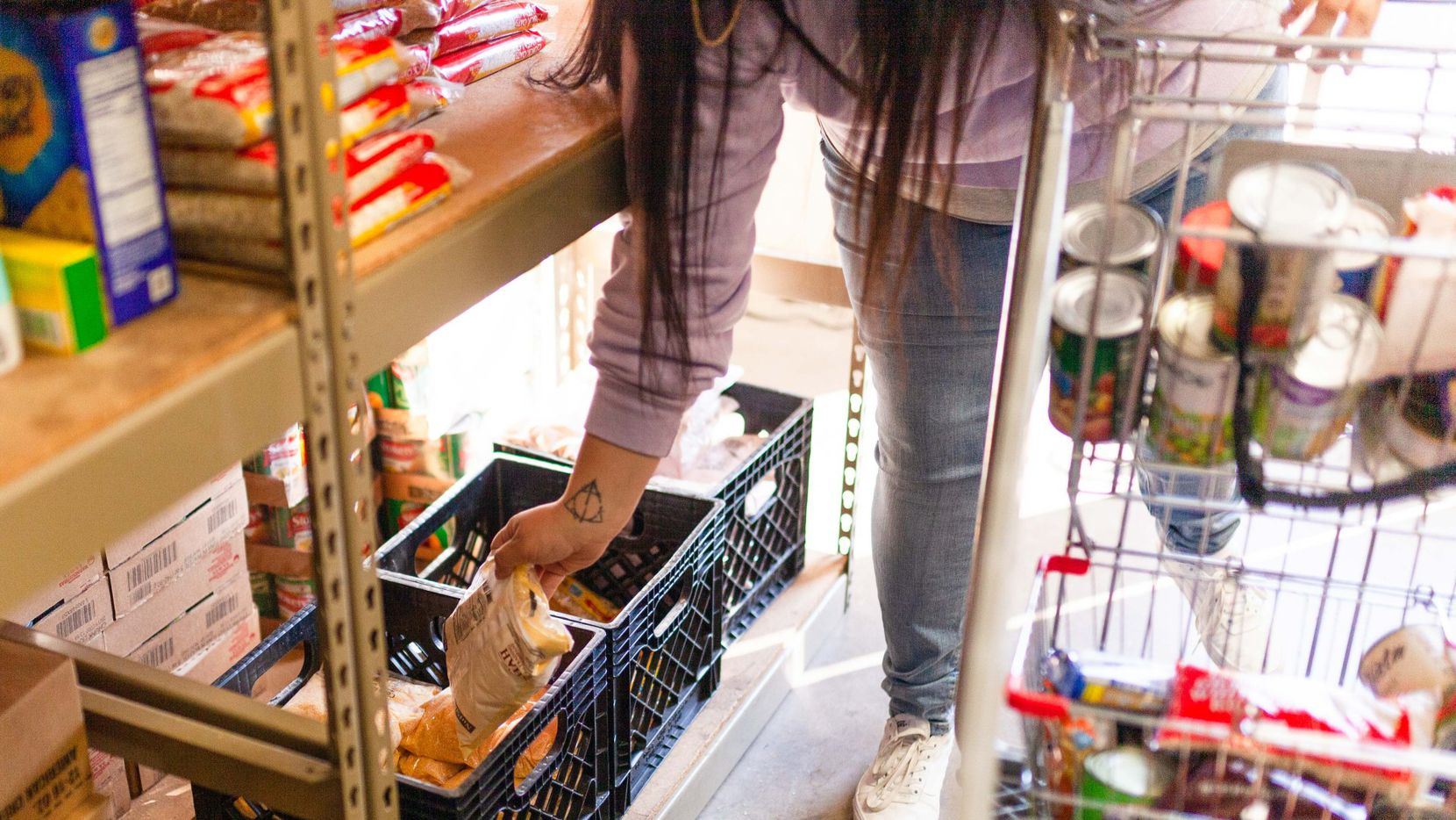 Mission Oak Cliff's summer feeding program provides two weeks' worth of groceries and food, twice a month, to families in need.