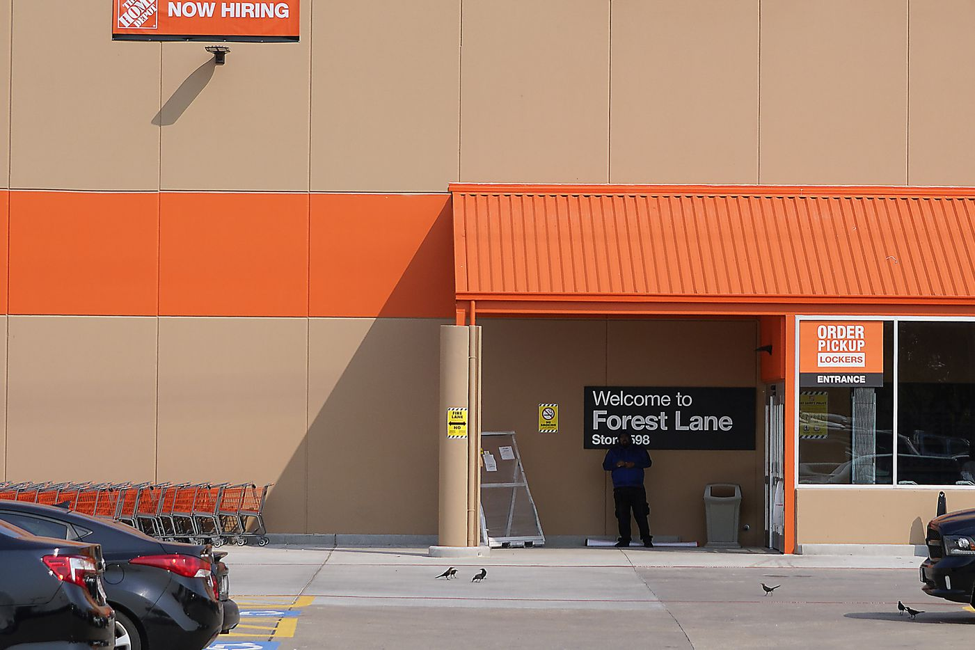 Home Depot store at Forest Lane and N. Central Expressway on Friday, Oct. 2, 2020, in Dallas. (Smiley N. Pool/The Dallas Morning News)