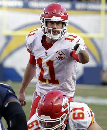Alex Smith y los Chiefs de Kansas City se enfrentan a Pittsburgh. Foto AP
