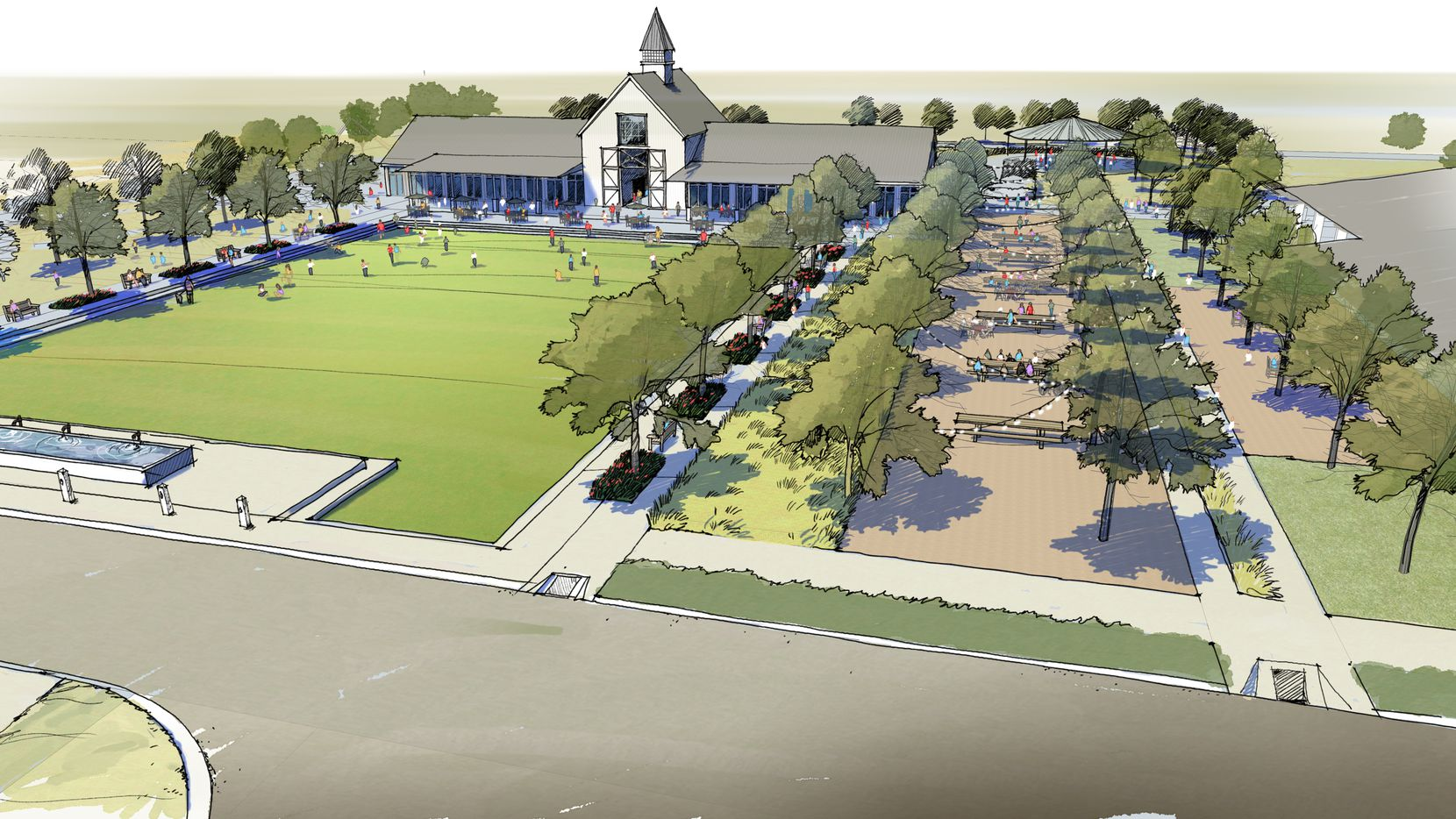Hillwood Communities' new Pecan Square development is planned with more than 3,000 homes.
