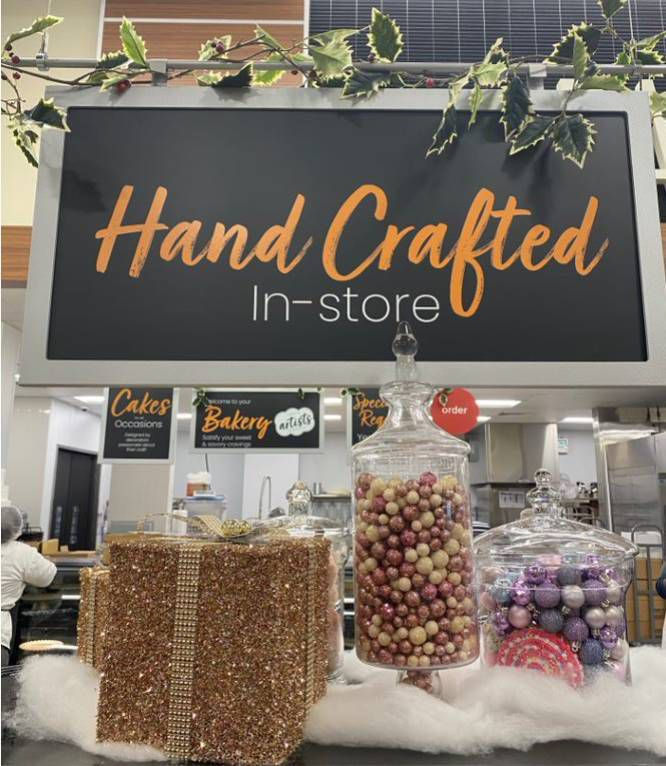 The new Tom Thumb on Live Oak and Texas Streets has a full-service bakery and new recipes exclusive to this store from Blue Bell and Philadelphia Cream Cheese.