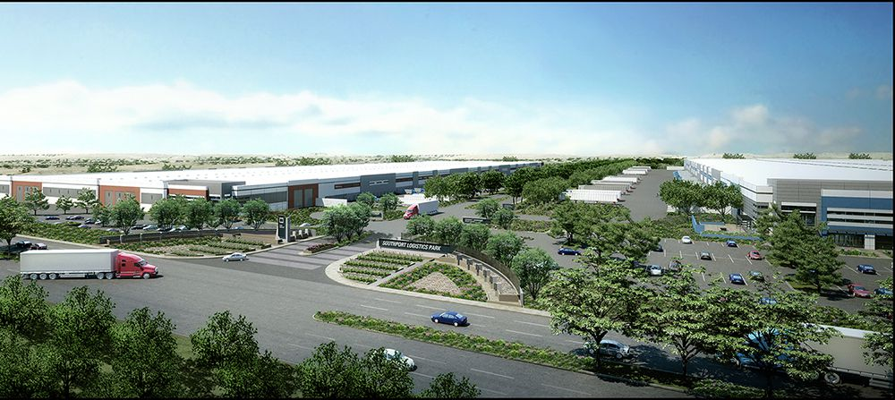 Chicago-based Logistics Property has leased more than 1 million square feet in its Southport Logistics Park.