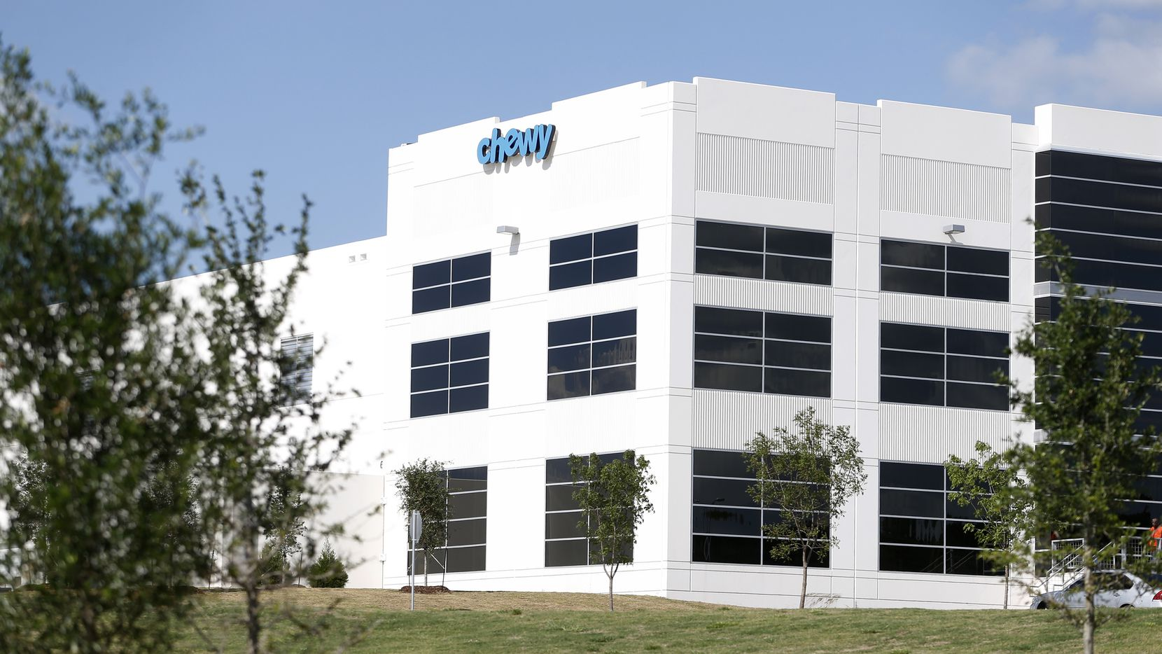 Chewy has a major distribution center in the Mountain Creek Business Park in Southwest Dallas.