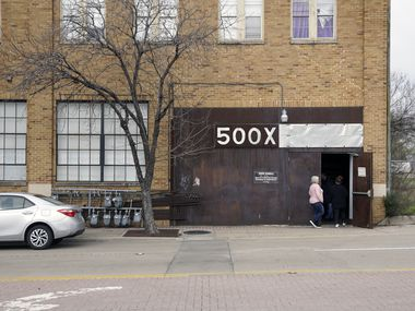 Contemporary art from 2D, 3D, photography, to new media filled the space at 500X Gallery in Dallas, Texas on Sunday March 3, 2019.