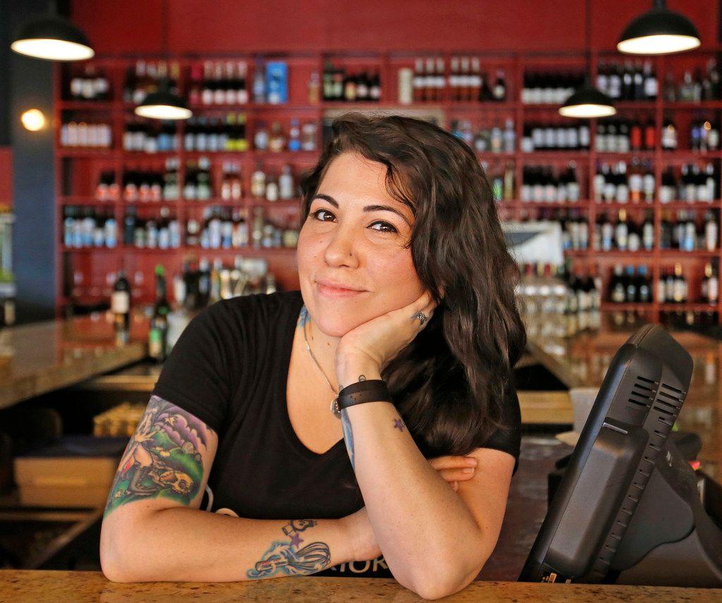 Co-owner Jessica Kate-Martinez of Tapas Castile restaurant in Trinity Groves