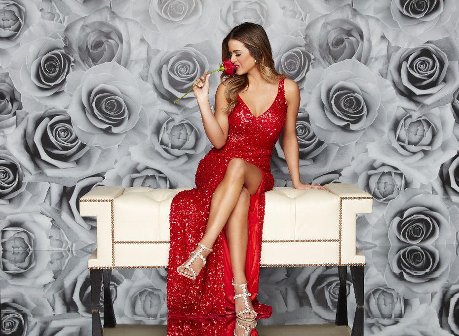 JoJo Fletcher first appeared on 'The Bachelor,' then on 'The Bachelorette.' She's the stand-in host for Chris Harrison during the latest filming of 'The Bachelorette' in California.