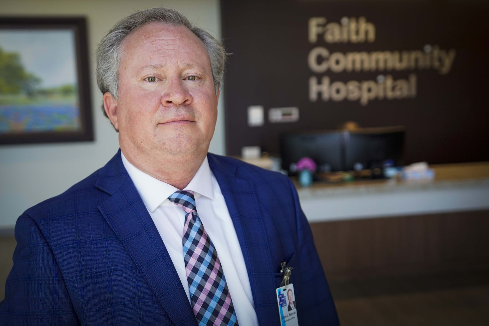 Frank Beaman, CEO of Faith Community Health System, says many rural hospitals stopped delivering babies, so mothers now come to Jacksboro from neighboring counties to give birth.
