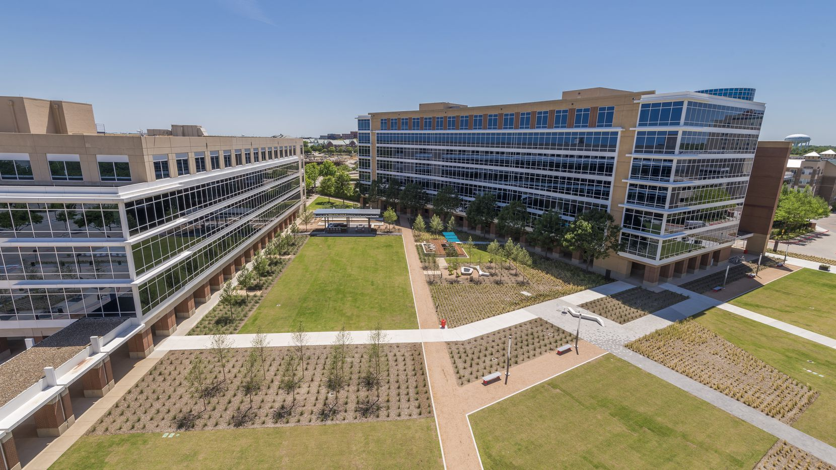 The Galatyn Commons office campus in Richardson is almost fully leased.