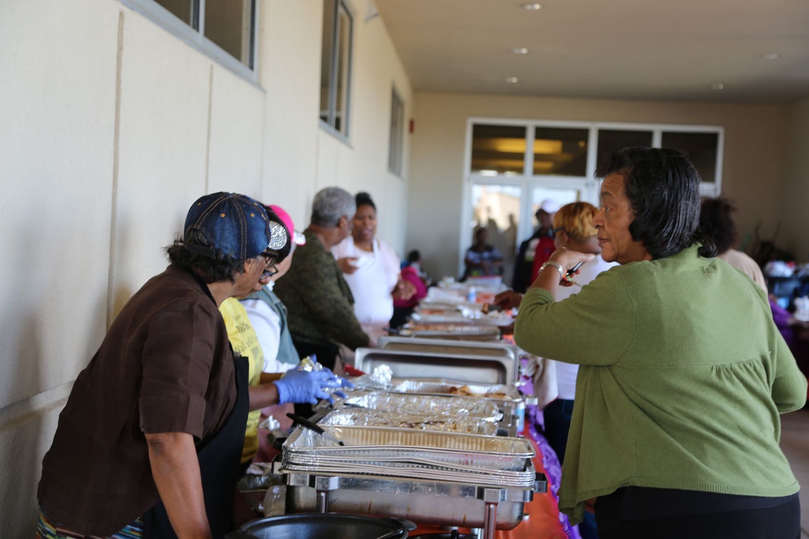 Full Gospel Holy Temple church in South Dallas has a history of serving Sunday meals, called Dinner on the Ground.