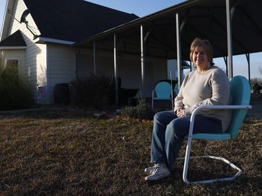 Tracie Pannell moved from Collin to Fannin County a few years ago, and during the pandemic, she's found that living in a rural area has fewer resources than an urban one.