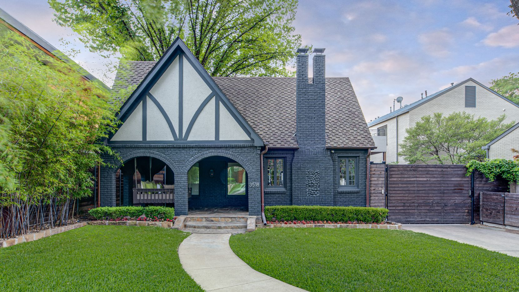 A look at the property at 3518 Springbrook Street in Dallas.
