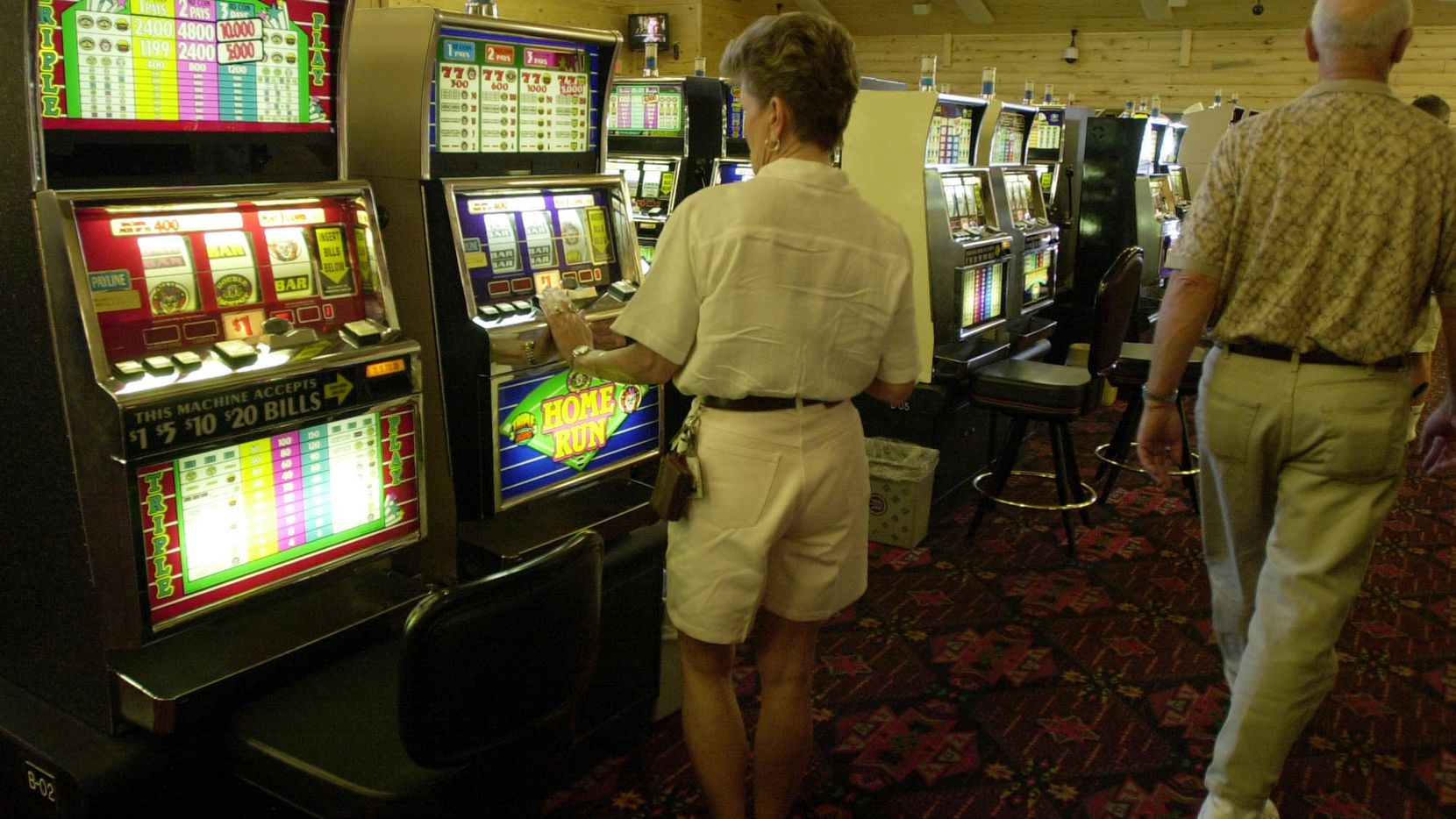 Slot machines have even worse odds than roulette.