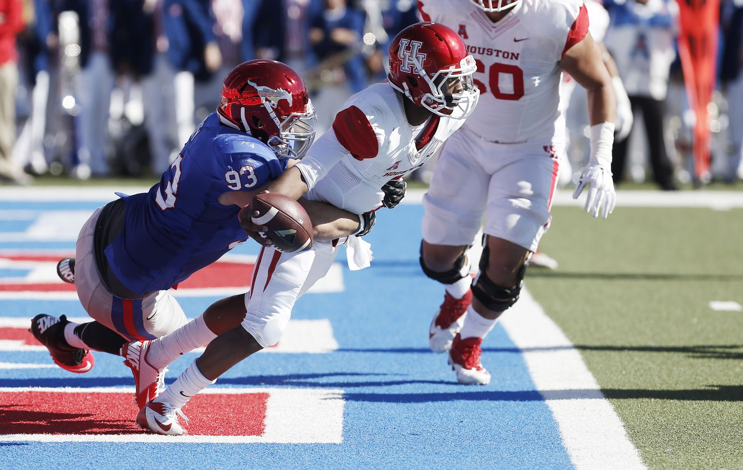 MASON GENTRY / Junior DT / 6-foot-6, 296 pounds / 2015 stats: 19 tackles, 2 TFLs / Once labeled the next Margus Hunt, Gentry has yet to make the impact one of the best players in recent SMU history made. But there is potential. Gentry started all 12 games last season but really needs to improve his production.