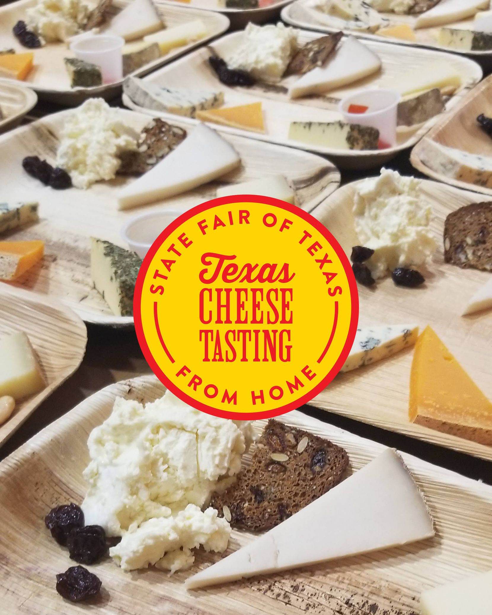 The fair has partnered with Scardello Artisan Cheese to offer two tastings of Texas cheeses.