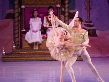 In this 2017 file photo, New York City Ballet principal dancers and Chamberlain Performing Arts students perform 'The Nutcracker' at the Eisemann Center in Richardson.
