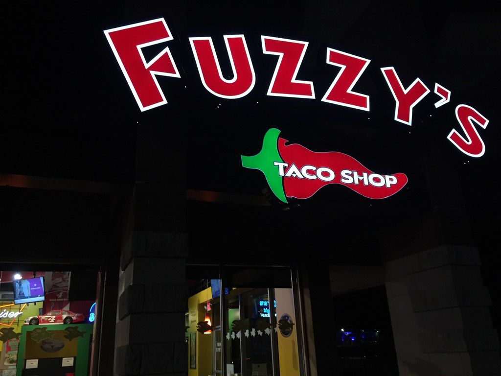 Fuzzy's Taco Shop in Cedar Hill. Since its founding in Fort Worth in 2003, the taco chain has expanded to more than 150 locations across the country.