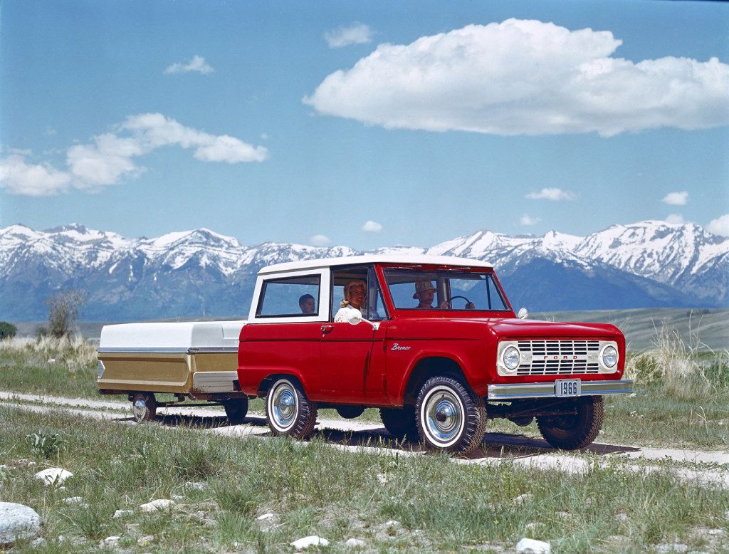 1966 Ford Bronco: The first-generation Bronco was Ford's first compact sport utility vehicl. It was not the best-selling SUV at the time, nor was it the best-selling Bronco generation. But unmolested examples with the optional V-8 are the most desirable Broncos for today's collectors.