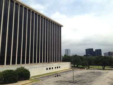 The Forest Lane high-rise was previously home to EDS and CompuCom Systems.