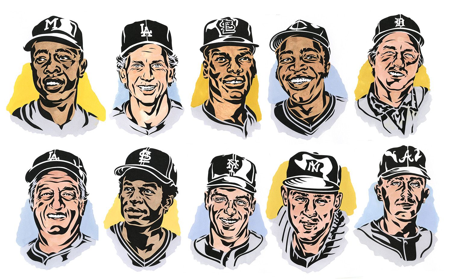 America lost 10 Baseball Hall of Famers in the last 10 months.
