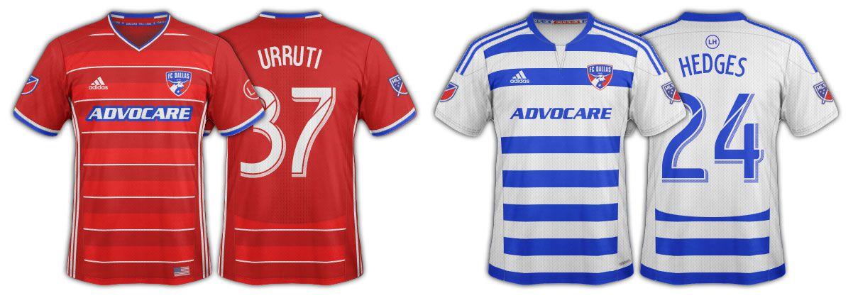 2016 FC Dallas jerseys