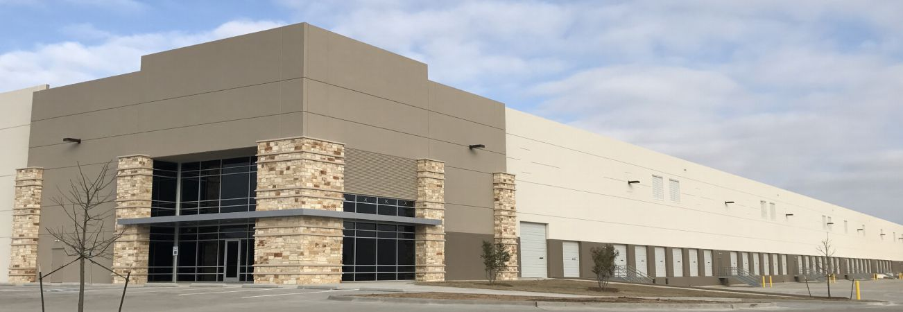 Ascendant Commercial built this warehouse in Grand Prairie.
