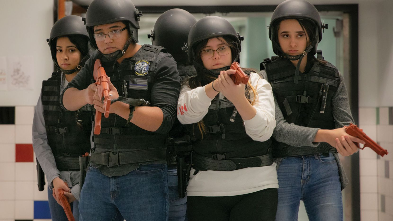 """A still from """"At the Ready,"""" a documentary about a criminal justice club at an El Paso High School. It's one of several Texas-set films screening at the 2021 Dallas International Film Festival."""