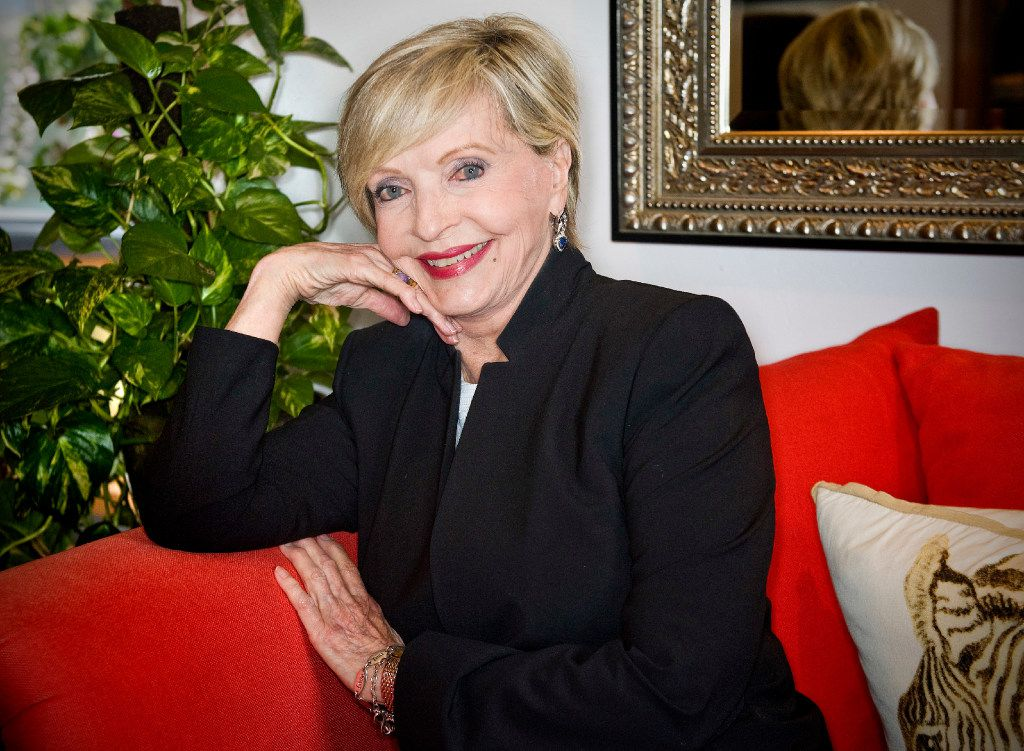 In this May 2015 photo, actress Florence Henderson spoke during the Alzheimer's Association, Orange County's 9th annual Visionary Women Luncheon at Rancho Las Lomas in Silverado, Calif.