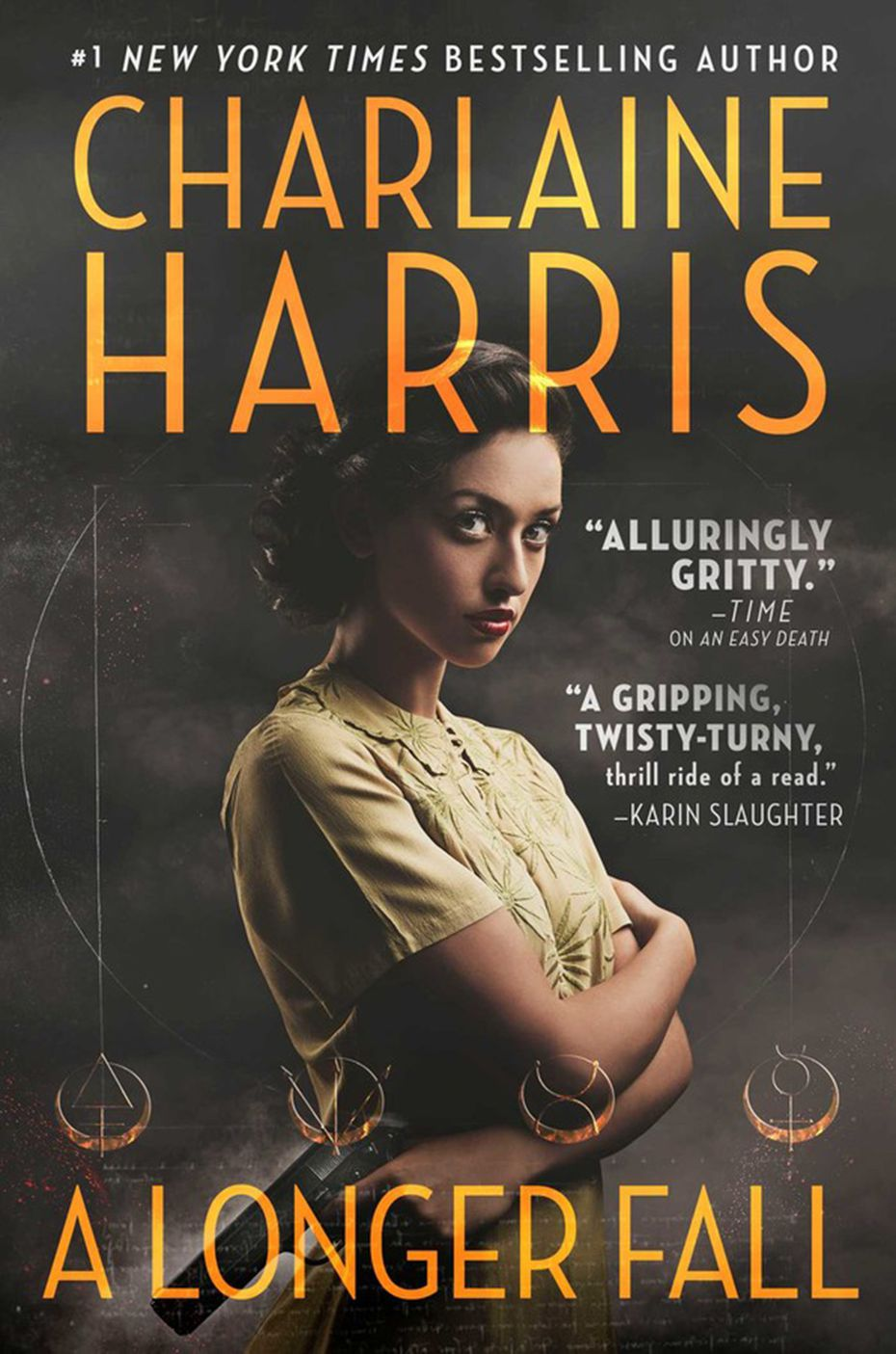 """A Longer Fall"" by Charlaine Harris incorporates elements of the Western, science fiction, mystery and magical realism genres."