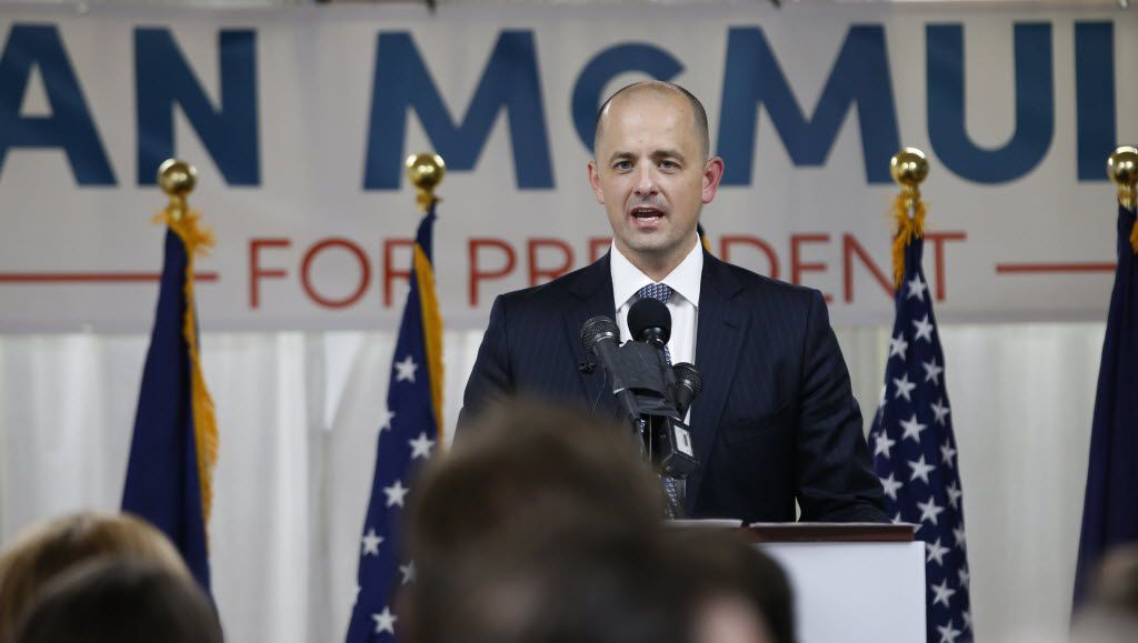 Former CIA agent Evan McMullin announced his independent candidacy in Utah. He has yet to register much support in polls, but he's hoping dismayed conservatives will help him get on the ballot and disrupt the Donald Trump-Hillary Clinton matchup. (George Frey/Getty Images)