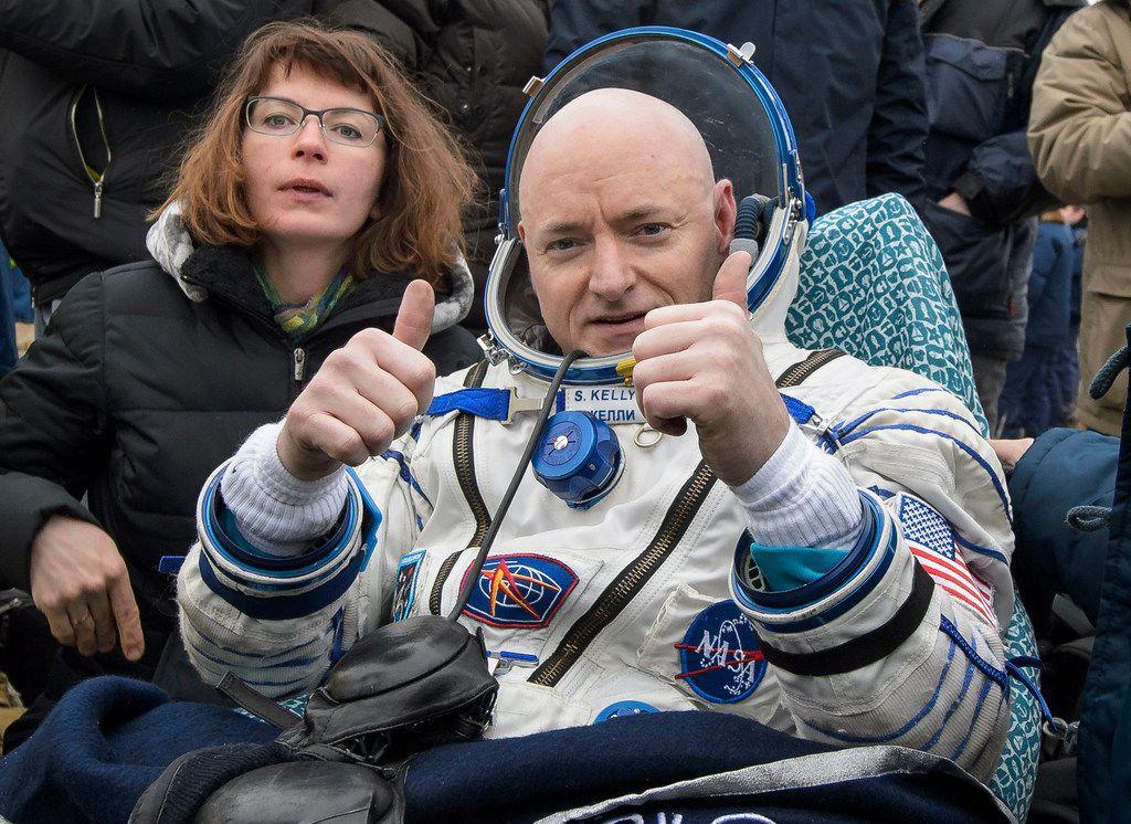 On March 2, 2016, Scott Kelly landed near Dzhezkazgan, Kazakhstan.