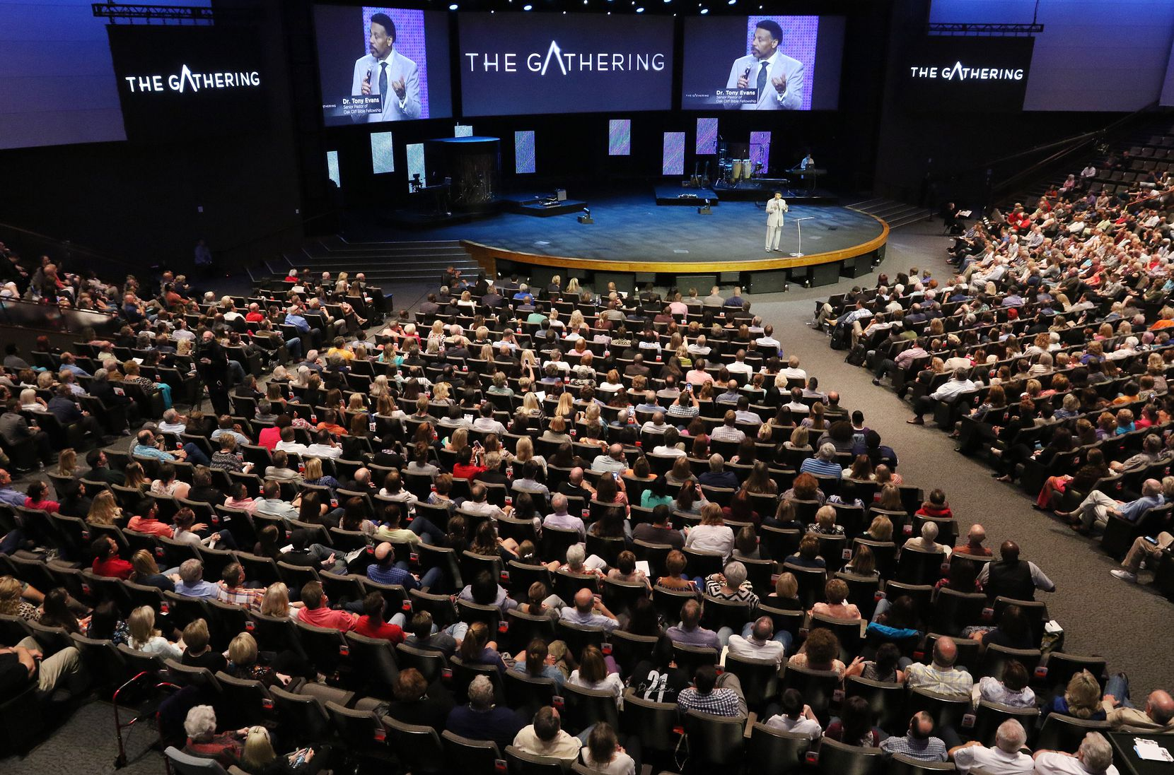 Christian leaders from across America came together for a day of pray and solemn assembly to call the nation to return to God. The event was held at Gateway Church in Southlake on Sept. 21, 2016.  (Irwin Thompson/Dallas Morning News)