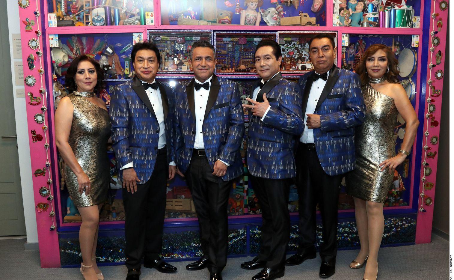 Los Ángeles Azules, que estarán en el Machaca Fest el 22 de junio, buscan a la cantante para que grabe un tema con ellos./ AGENCIA REFORMA