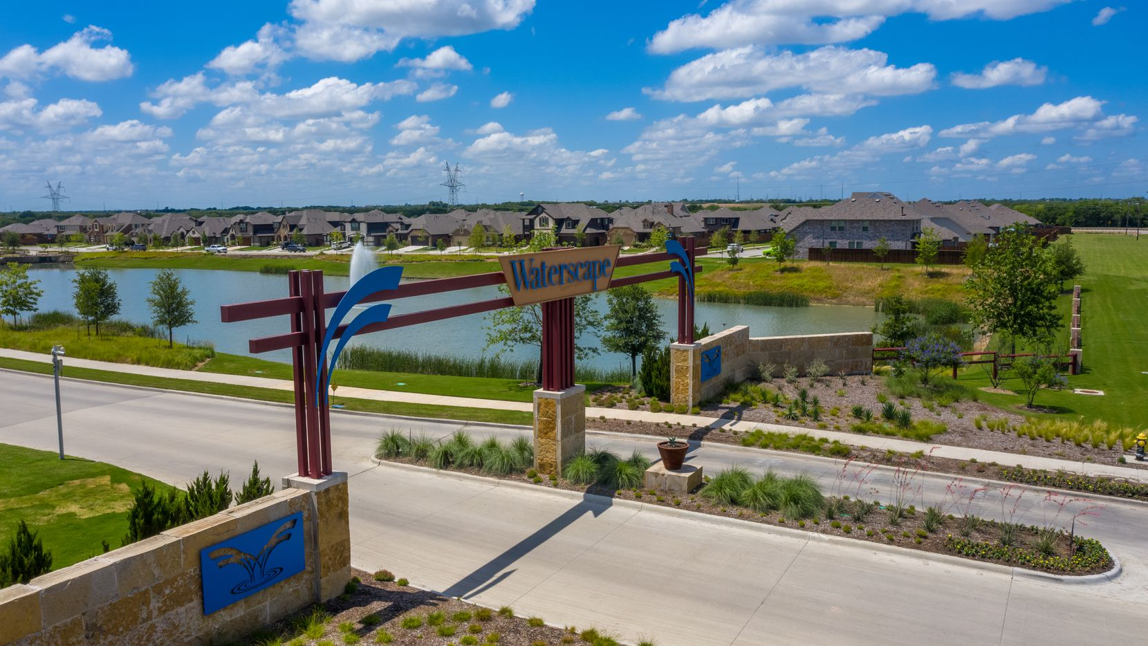 Huffines Communities' Waterscape development is already home to about 250 families.