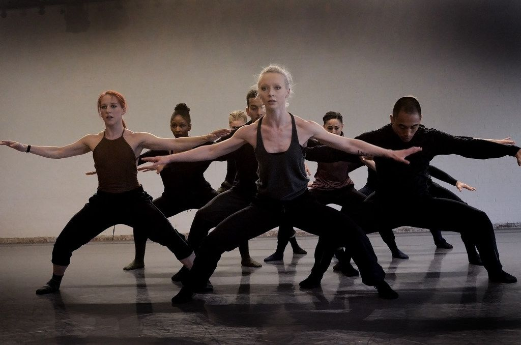 Bruce Wood Dance rehearses Yin Yue's Begin Again, which the company commissioned from the New York choreographer.