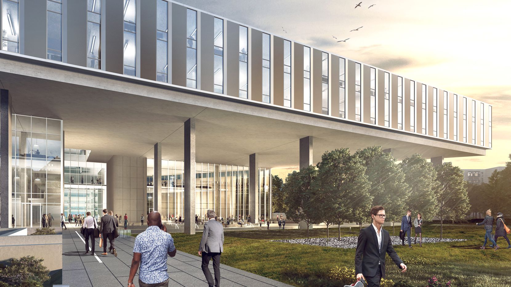 Baylor Scott & White's new East Dallas office campus will house hundreds of workers.