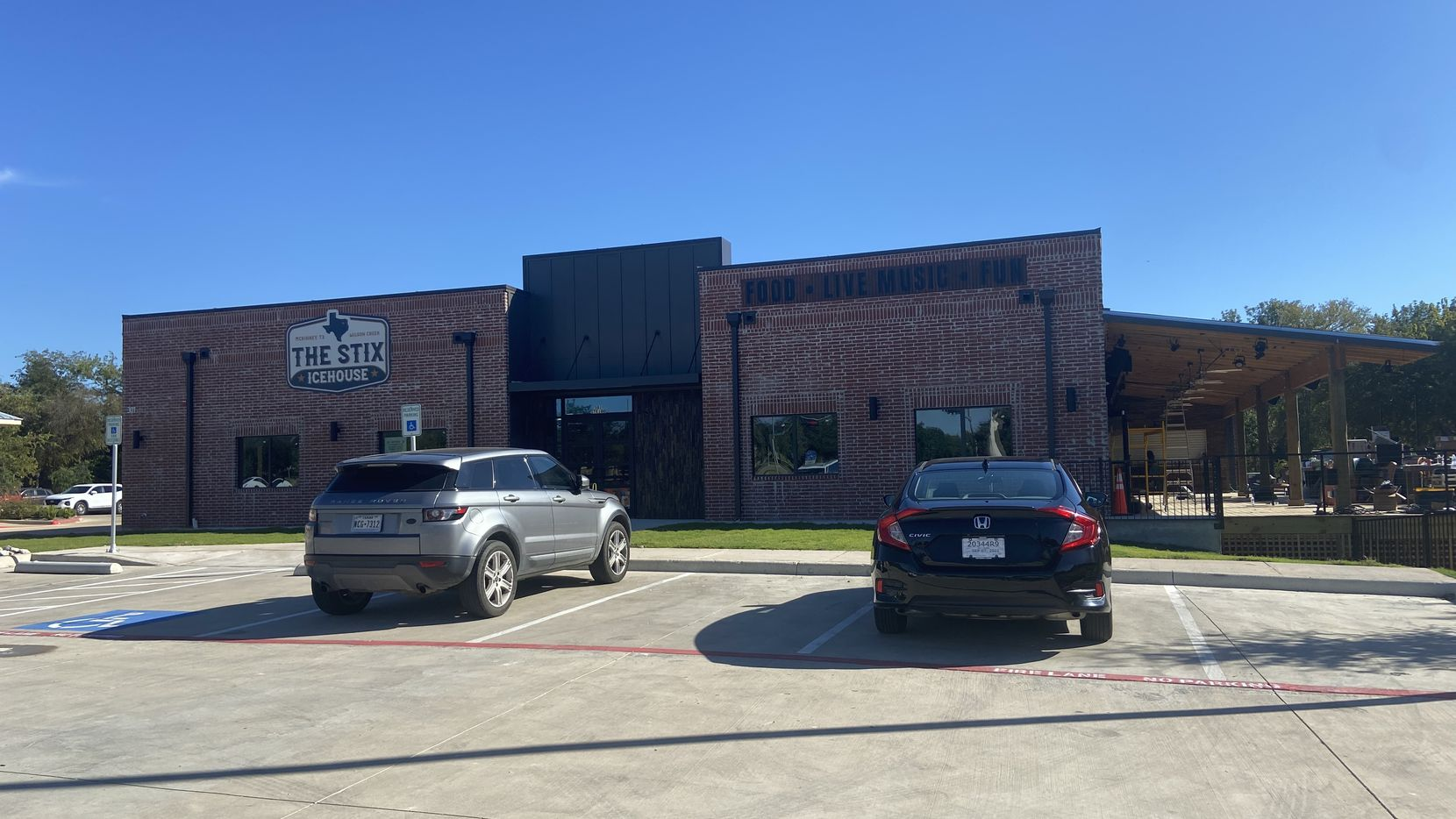 The Stix Icehouse open in McKinney on October 22.