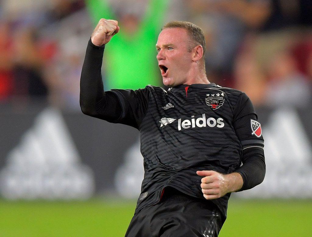 Wayne Rooney (9) jugó dos años en la MLS, con el D.C. United.