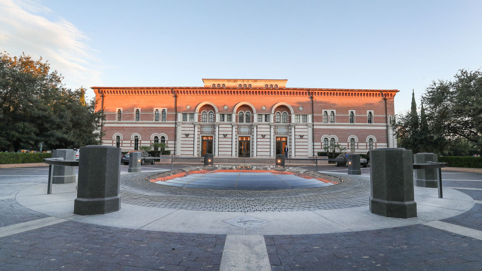 James A. Baker III Hall on the Rice University's campus in this 2018 file photo.