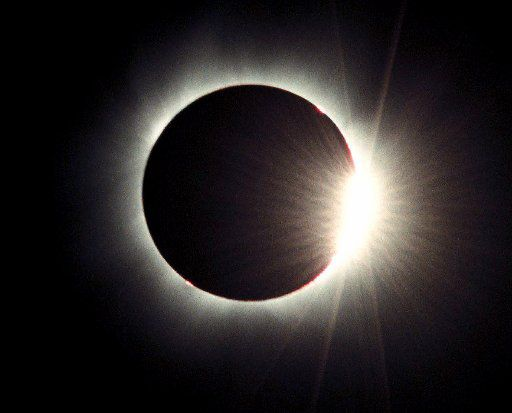 The sun was eclipsed by the moon on Aug. 11, 1999, as seen near the village of Stone Beach in northeastern Bulgaria.