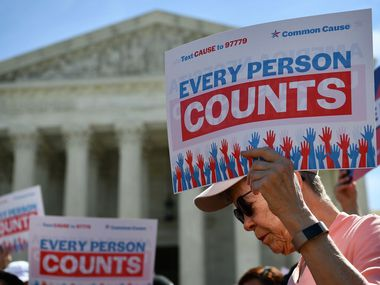 The U.S. Supreme Court ruled 5-4 Thursday against the Commerce Department's attempt to add a citizenship question to the 2020 census.