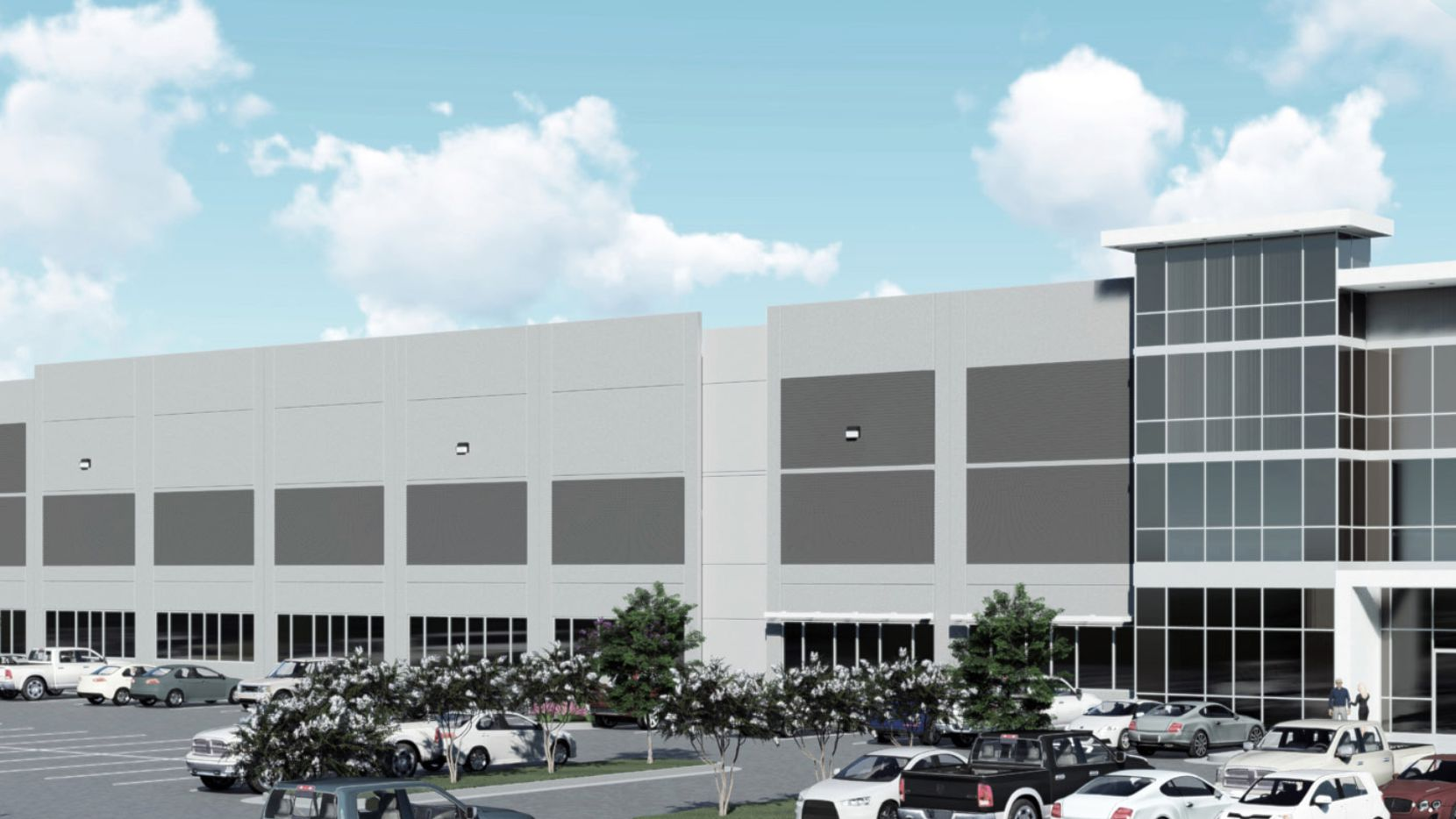 Pitney Bowes is planning a new operation in the Logistics Center 11 building on Bush Turnpike.