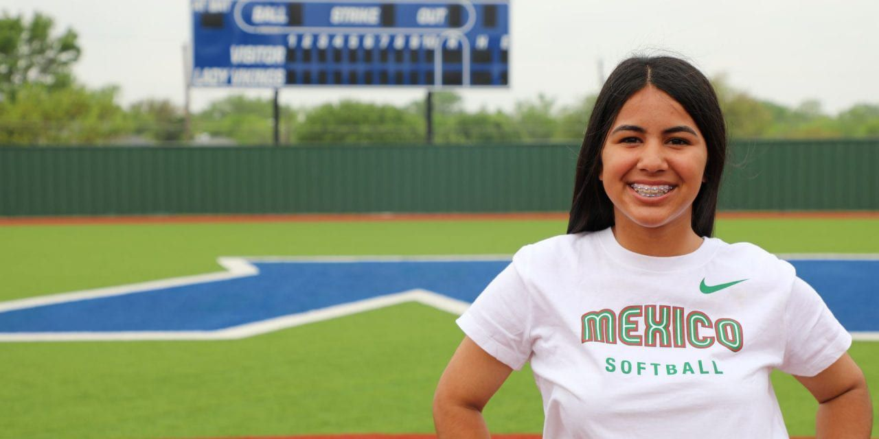 Nimitz High School junior Ximena Zamarron earned a spot on the Mexico Junior Softball National team.